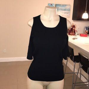 BANANA REPUBLIC Colder Shoulder Knit Top